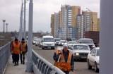 На Иркутном мосту открыли движение по отремонтированным полосам