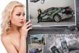 В Иркутске выпущен автокалендарь «В мир стиля» на 2013 год