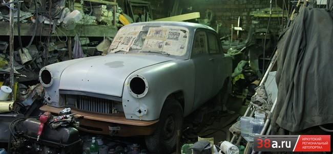 Москвич 402 «Экспонат ТКМ»