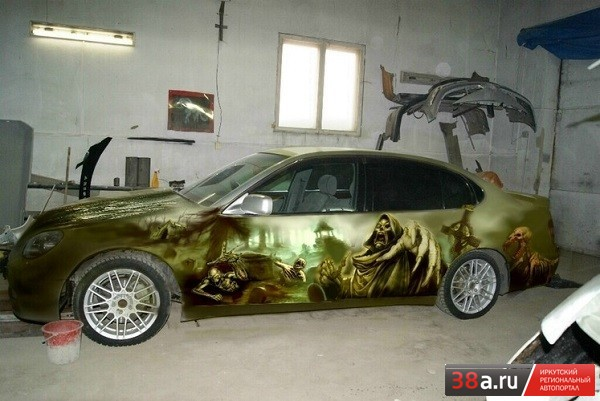 Toyota Aristo «Призрачный гонщиК»