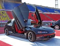 Honda Civic «Black angel»