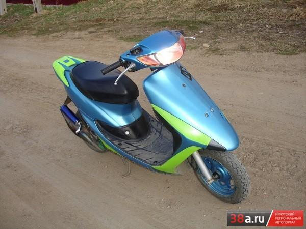 Honda DIo 35 ZX tuning «Mura»