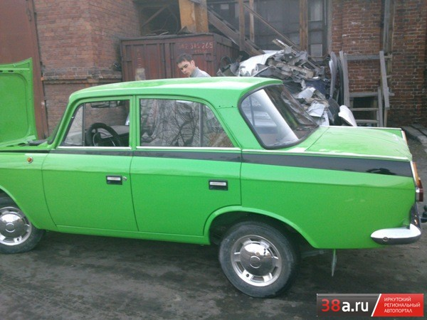 Иж-412 Москвич «Зелёнка»