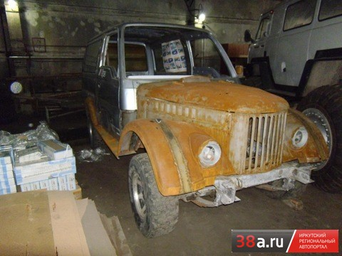 ГАЗ-69 «Память о дедушке»