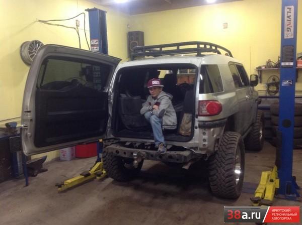 Toyota FJ Cruiser «ЗИЛок»