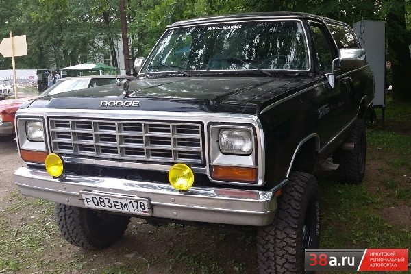 Dodge Ramcharger 1983 года выпуска