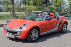 Smart Roadster «Молния Маквин»