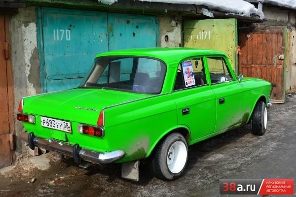 Иж-412 Москвич «Зелёный Позитивчик»