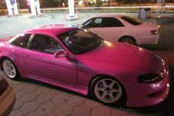 Toyota Soarer «Розовая Пантера»