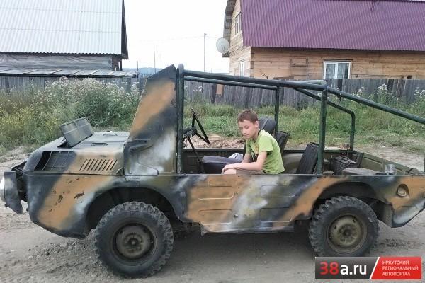 ЛуАЗ-967 ТПК «Амфибия»