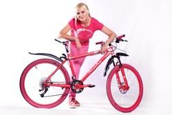 Велосипед On-one custom «Розовая пантера»