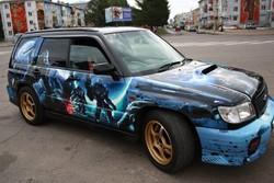 Subaru Forester STI «Космический десант»