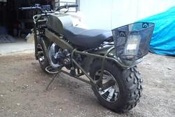 Полноприводный мотоцикл