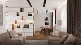 Современный дизайн квартиры от лидирующей компании stroyhouse.od.ua