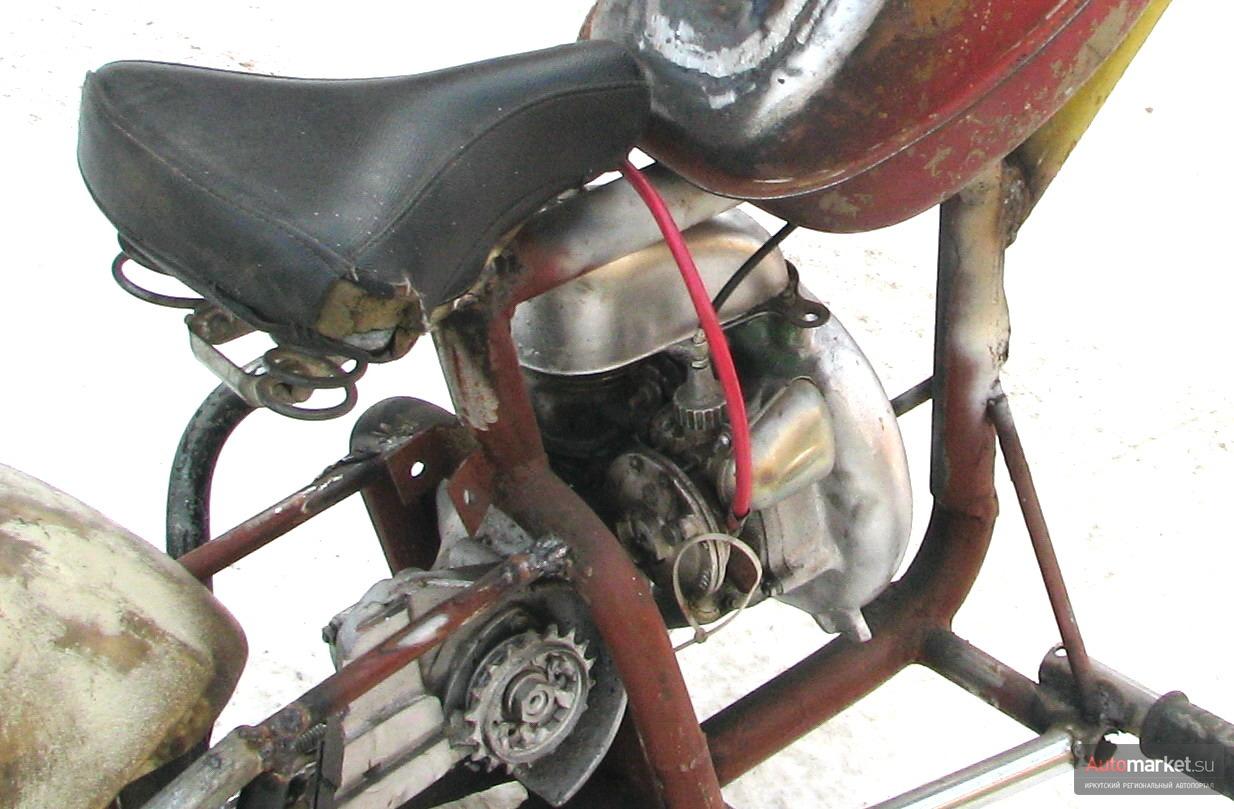 Как сделать велосипед с мотором из бензопилы своими руками