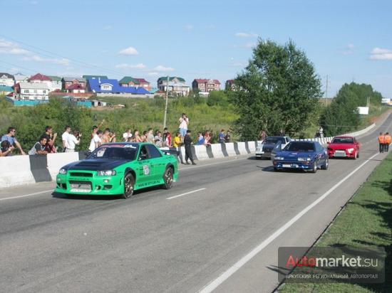 Драг-рейсинг в Иркутске (21.08.2010 г.)