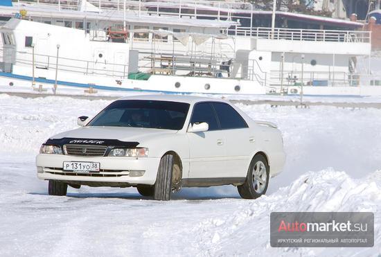 Ледовые гонки в Иркутске