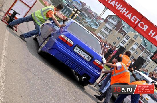 Дрэг-рейсинг-2012 в Иркутске. I этап