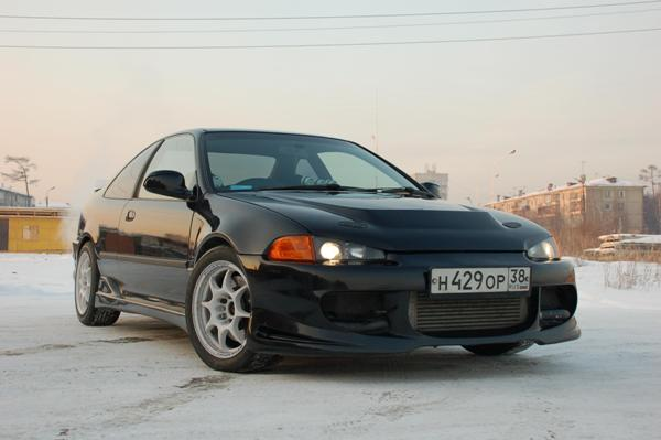 Honda Civic Coupe Артема Казакова