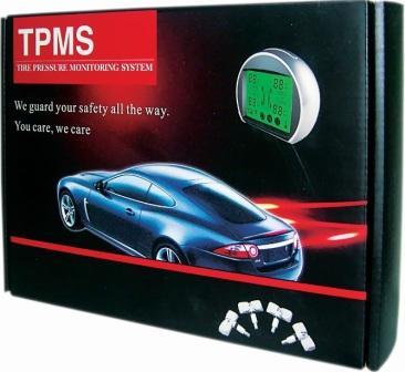 Система контроля давления и температуры в шинах автомобиля (TPMS)