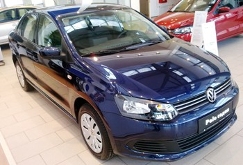 Volkswagen Polo седан в Иркутске