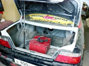 Toyota Chaser Романа Мещерякова