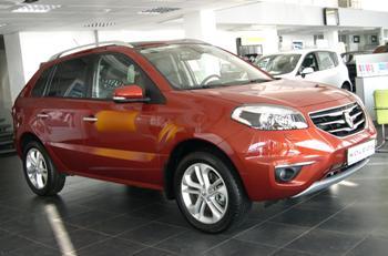 Renault Koleos 2012 в Иркутске