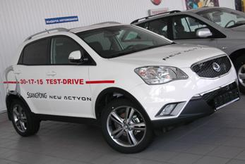Ssang Yong New Actyon в Иркутске
