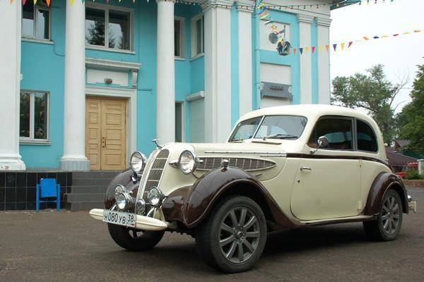 BMW-321 в Иркутске