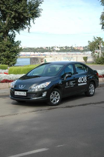 Peugeot 408 в Иркутске