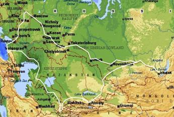 Путешествие Карима Мухамадеева