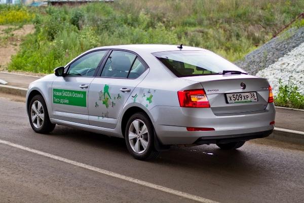 Skoda Octavia A7 в Иркутске