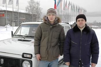 Иван Метелев (слева) и Виктор Кавко