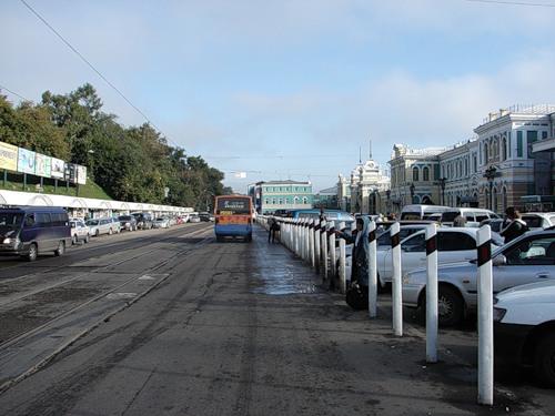 Вокзал Иркутск