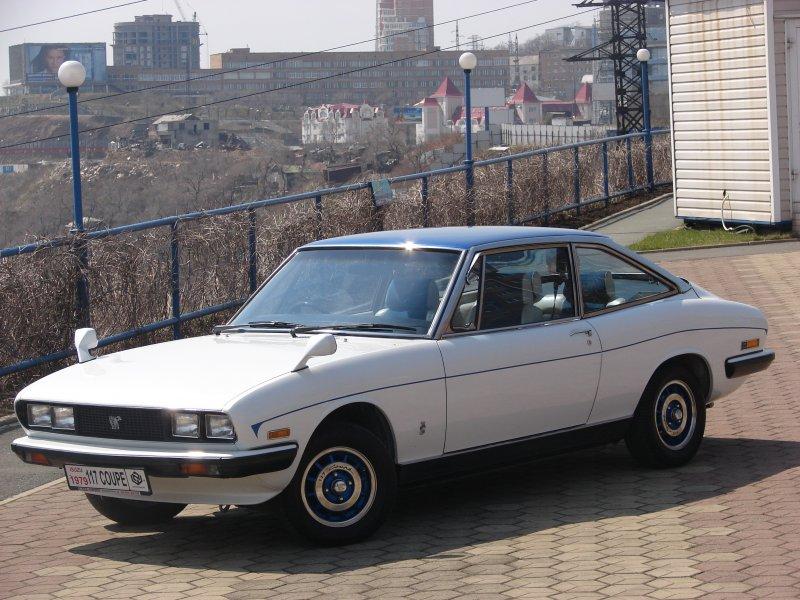 Isuzu 117 Coupe «Blanc Edition» 1979 года выпуска
