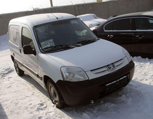 Peugeot Partner в Иркутске