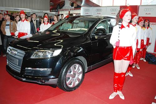 Audi Q7 в Иркутске