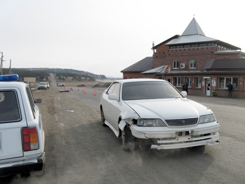 ДТП с пешеходом на Качугском тракте