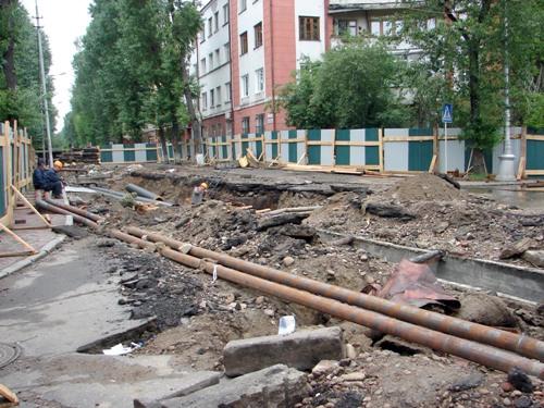 Ремонт дорог в Иркутске