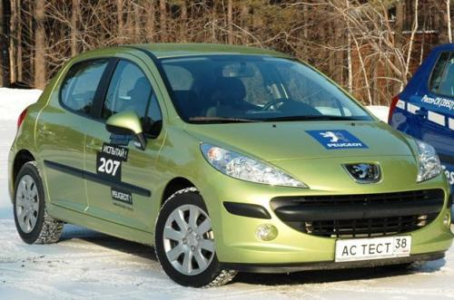 Peugeot 207 в Иркутске