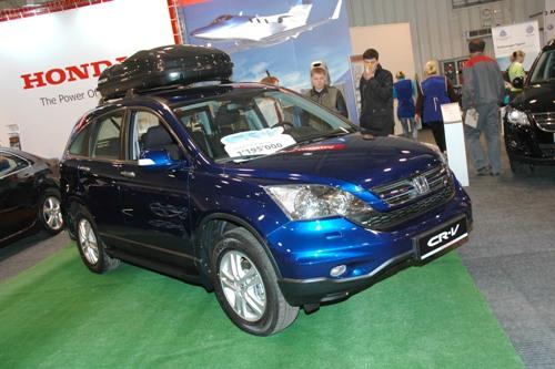 Honda CR-V в Иркутске