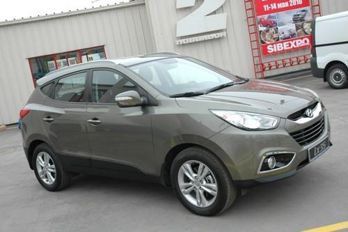 Hyundai ix35 в Иркутске