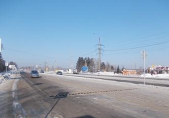 Объездная дорога в Ново-Ленино