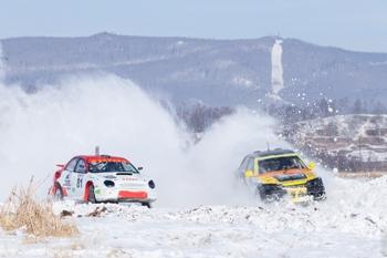 Ледовые гонки в Иркутской области