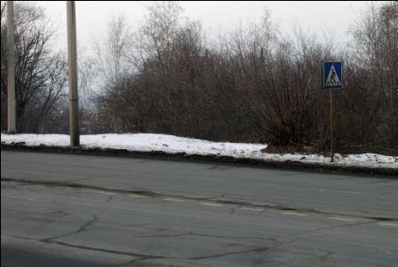 Пешеходный переход Иркутск