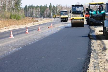 Строительство дорог в России