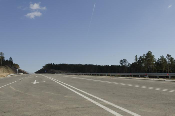 Объездная дорога вокруг Кяхты
