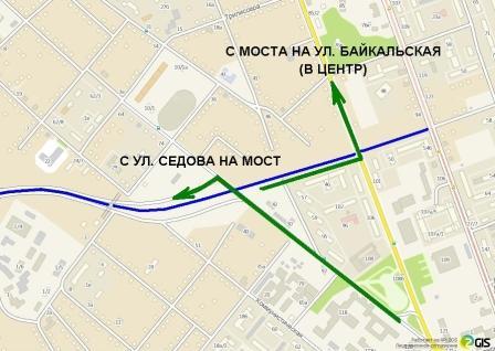 Новая транспортная схема Иркутска