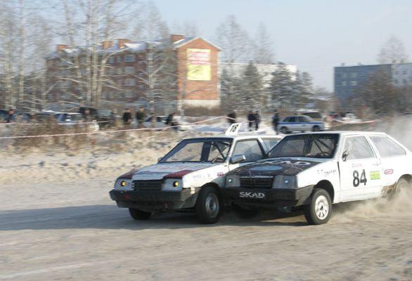 Автокросс в Шелехове