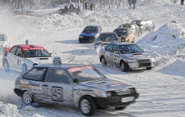 Автокросс в Иркутске 2012